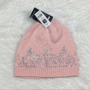 NEW Charlie Paige Embellishment Crown Beanie Hat